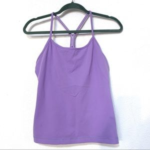 Lululemon Power Y Tank Purple 10 C88
